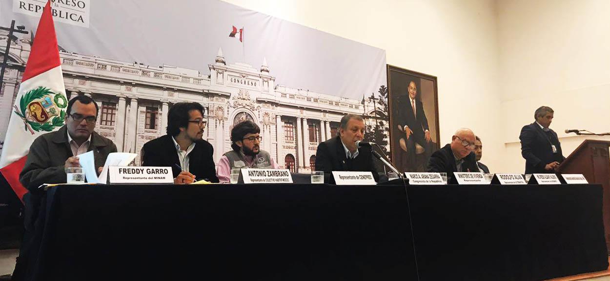 CENEPRED PARTICIPÓ EN FORO EN EL CONGRESO DE LA REPÚBLICA SOBRE LA SOSTENEBILIDAD URBANA PARA CONSTRUIR CIUDADES SOSTENIBLES