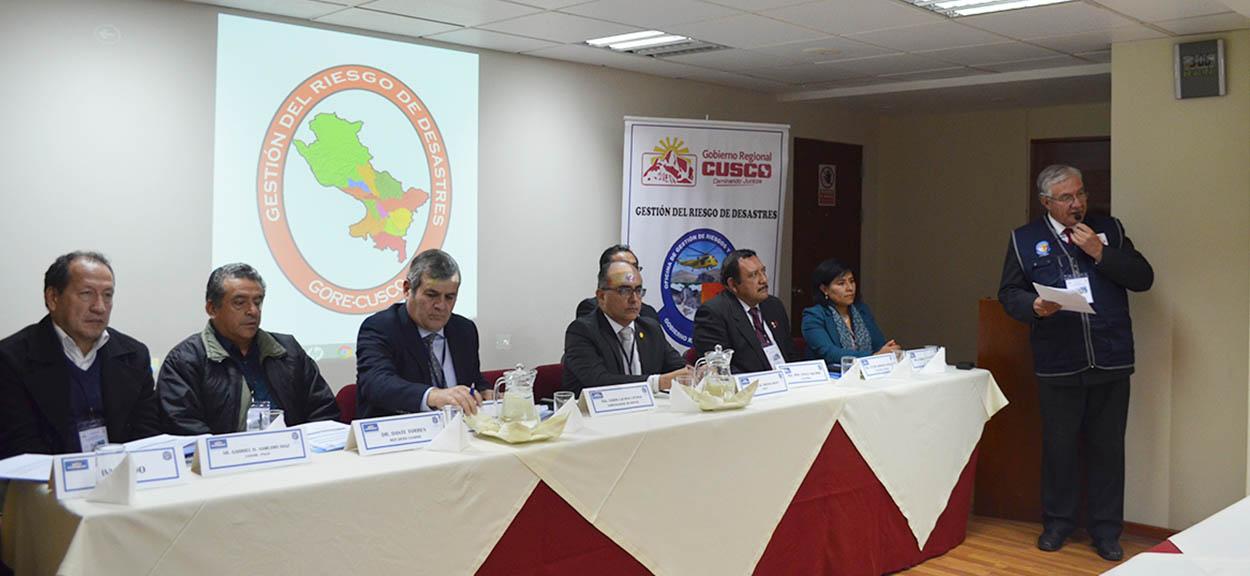 CENEPRED PARTICIPÓ EN TALLER REGIONAL DE GESTIÓN DEL RIESGO DE DESASTRES EN LA REGIÓN CUSCO