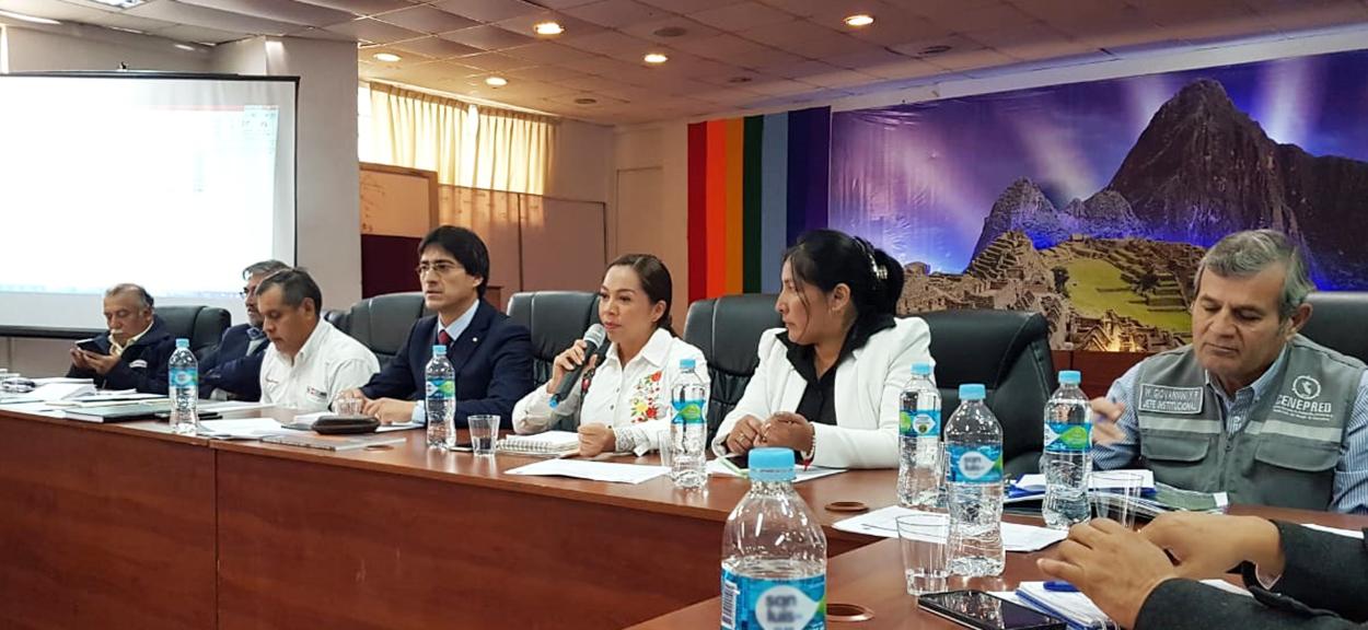CENEPRED PARTICIPÓ EN LA MESA DE TRABAJO POR LA DECLARATORIA DE EMERGENCIA EN LA REGIÓN CUSCO
