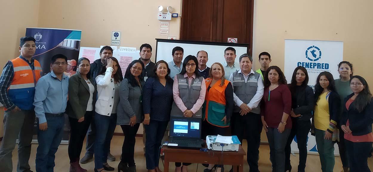 """Realizamos curso de reasentamiento poblacional en la Municipalidad de Lima"""""""