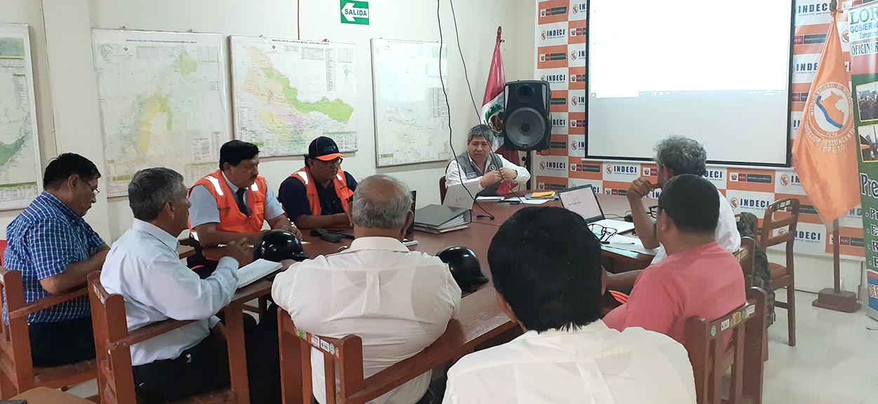 Gobierno Regional de Loreto recibió asistencia técnica para elaborar su PPRRD