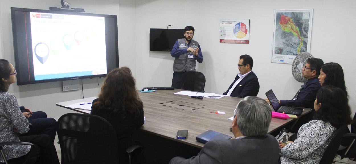 Brindamos charla sobre gestión prospectiva y correctiva a grupo de trabajo de SENCICO