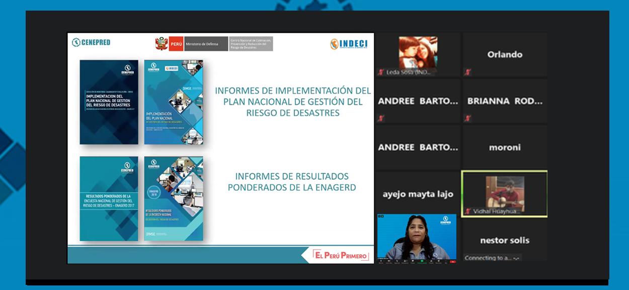 70 entidades de Moquegua y Arequipa fueron capacitadas en el registro de información de la ENAGERD 2019