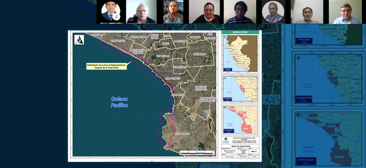Municipio de Lima aprueba Plan de Prevención y Reducción del Riesgo de la Costa Verde con el apoyo técnico del CENEPRED
